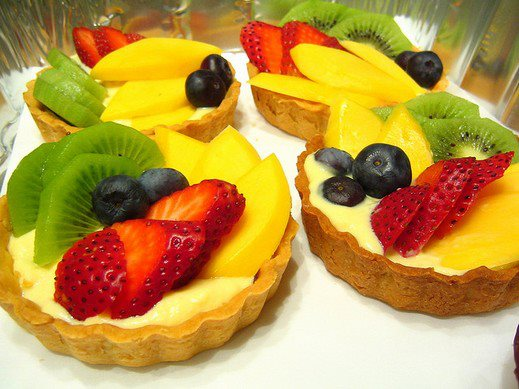 decoration de salade de fruits