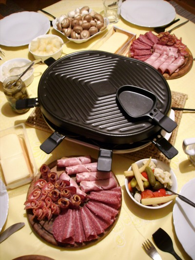 Comment revisiter la raclette ?