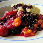 Un crumble aux fruits